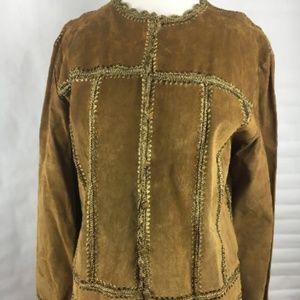 J Marco Vintage Suede Jacket Size XL